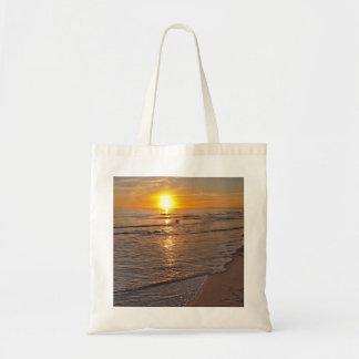 Bolso De Tela ToteBag: Puesta del sol por la playa