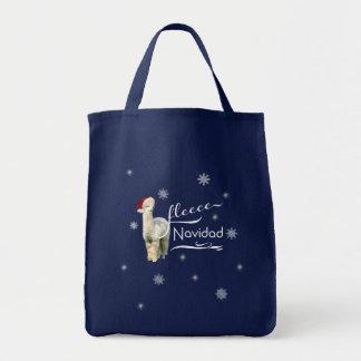 Bolso De Tela Totes del navidad de la alpaca