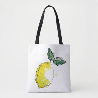 Bolso De Tela Tragetasche limón
