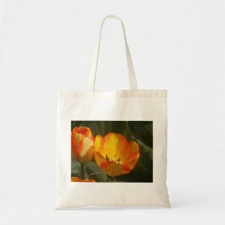 Bolso De Tela Tulipanes en The Sun