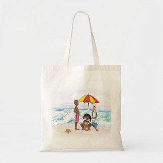 Bolso De Tela Un día en la playa