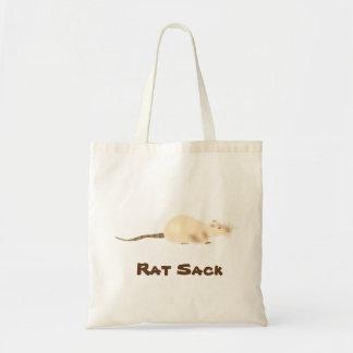 Bolso De Tela ¡Un saco de la rata para sus bocados de la rata!