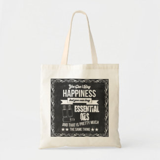 Bolso De Tela ¡Usted no puede comprar felicidad sino que usted