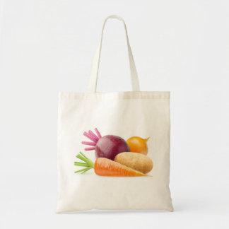Bolso De Tela Verduras de raíz