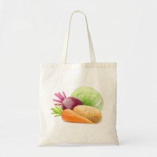 Bolso De Tela Verduras frescas