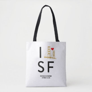 Bolso De Tela Viaje de San Francisco del amor o recepción del
