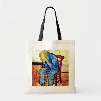 Bolso De Tela Viejo hombre Sorrowing Van Gogh