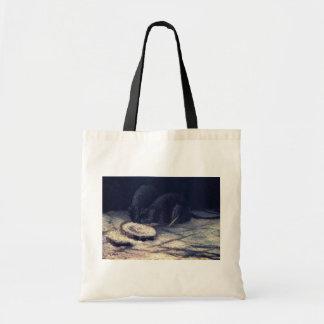 Bolso De Tela Vincent van Gogh - dos ratas - bella arte del