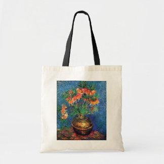 Bolso De Tela Vincent van Gogh - Fritillaries en un florero de