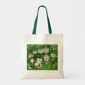 Bolso De Tela Vincent van Gogh - todavía bella arte rosada de