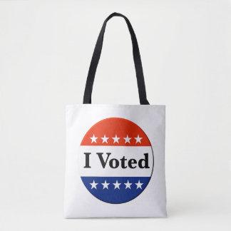 Bolso De Tela Voté 2018 elecciones