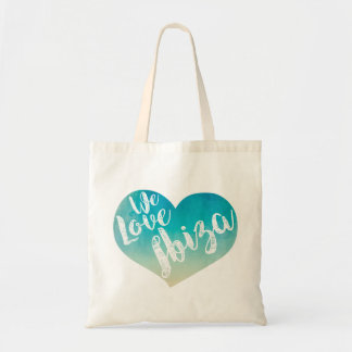 "Bolso De Tela ""We love Ibiza"""