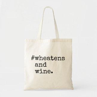 Bolso De Tela Wheatens y vino