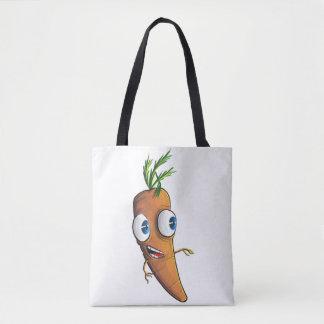 Bolso De Tela Zanahoria