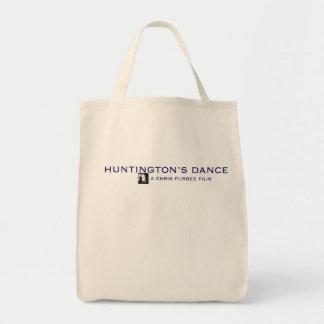 Bolso de ultramarinos de la danza de Huntington Bolsa Tela Para La Compra