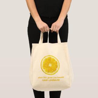 Bolso de ultramarinos del limón