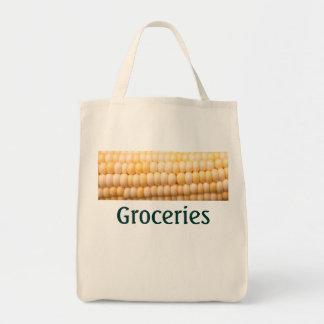 Bolso de ultramarinos del maíz bolsa de mano