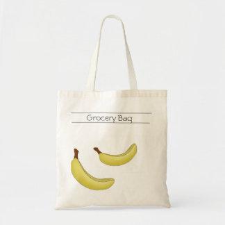 Bolso de ultramarinos del plátano bolsa