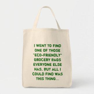 bolso de ultramarinos descarado bolsa tela para la compra