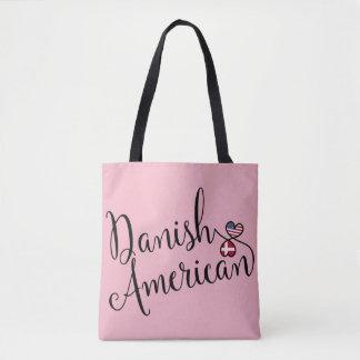 Bolso de ultramarinos entrelazado americano danés
