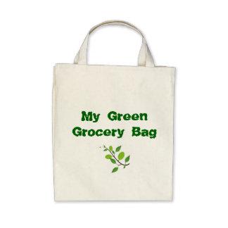 Bolso de ultramarinos orgánico bolsas