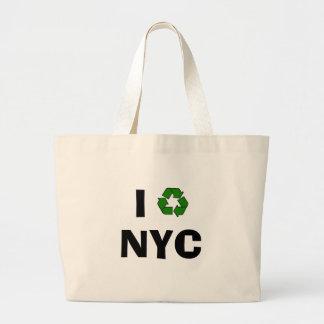 Bolso de ultramarinos reutilizable bolsa tela grande