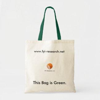 Bolso de ultramarinos verde bolsa tela barata