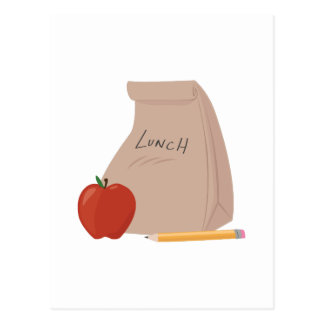 Bolso del almuerzo postal