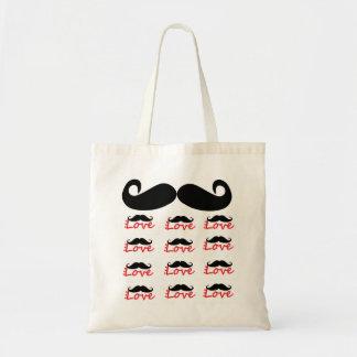 Bolso del amor del bigote