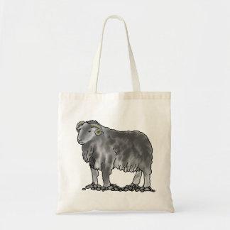 Bolso del arte de las ovejas de Herdwick del