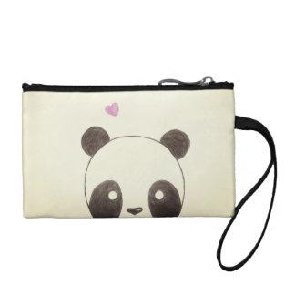 Bolso del cosmético de la panda
