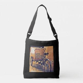 bolso del cruz-cuerpo de la bici