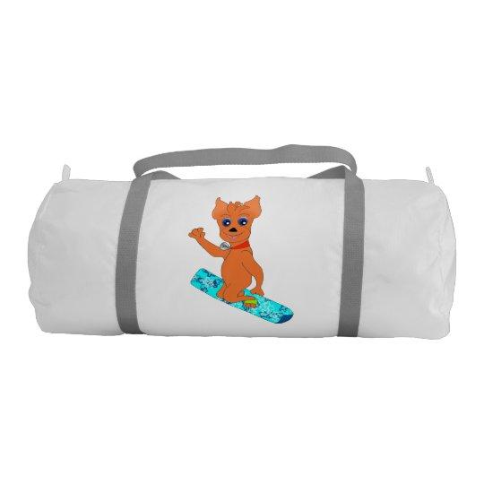 Bolso del deporte de Duffly - snowboard feliz Bolsa De Deporte