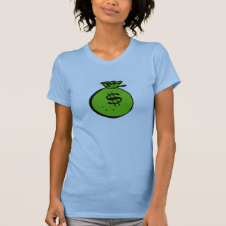 Bolso del dinero camiseta