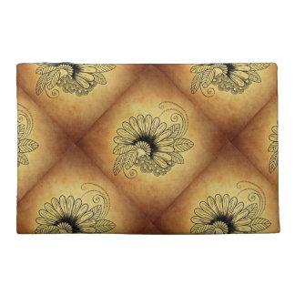 Bolso del diseño de la flor y de la hoja del