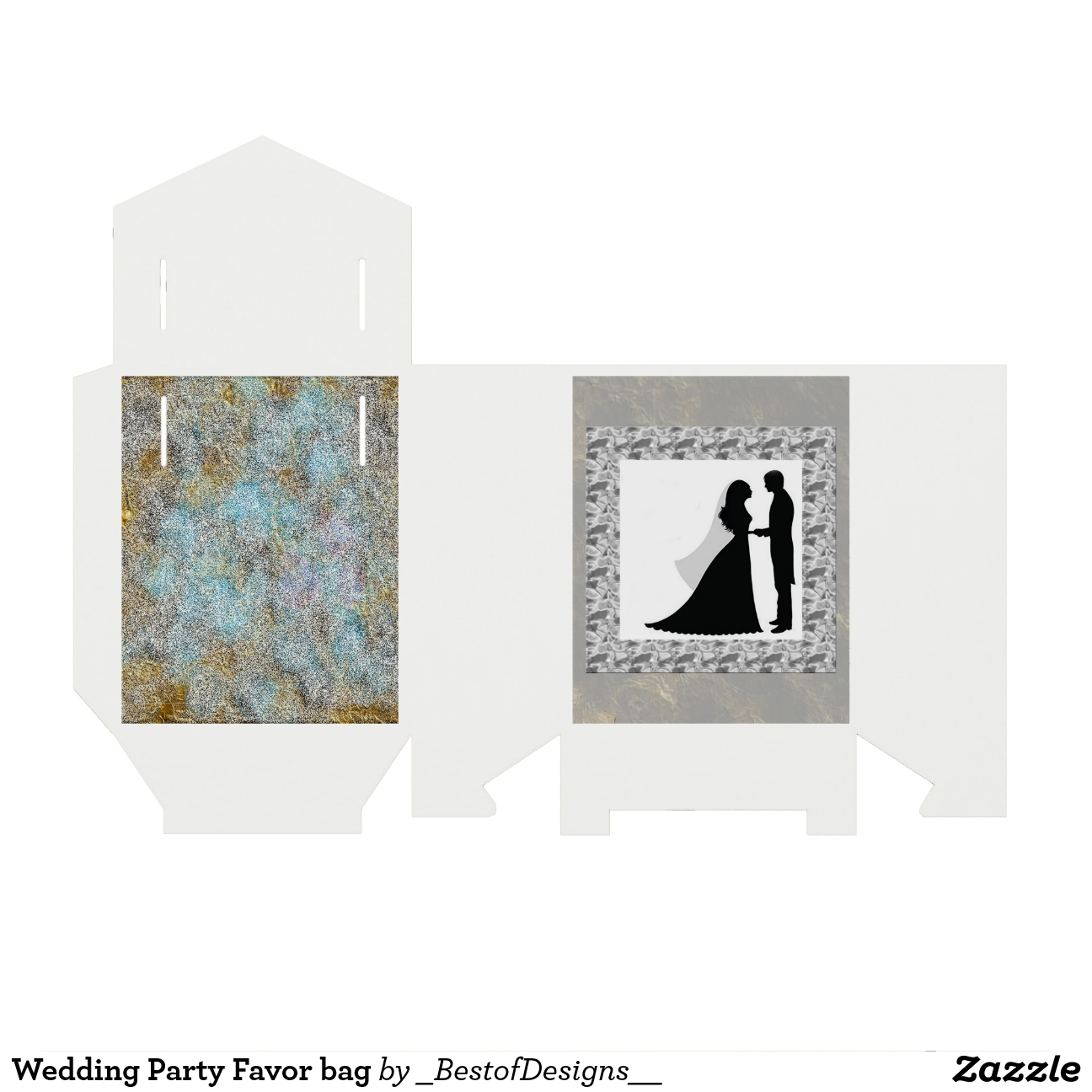 Banquete de boda de los bolsos del regalo