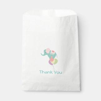 Bolso del favor de la fiesta de bienvenida al bebé bolsa de papel