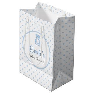 Bolso del favor de la fiesta de bienvenida al bebé bolsa de regalo mediana