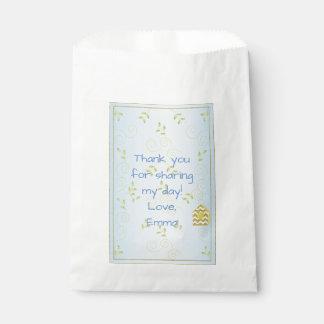 Bolso del favor de la fiesta de bienvenida al bolsa de papel