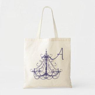 Bolso del favor del boda de la lámpara bolsa tela barata