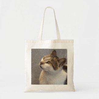 Bolso del gato - elija el estilo y el color bolsas lienzo