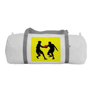 Bolso del gimnasio de la lona del baloncesto bolsa de deporte