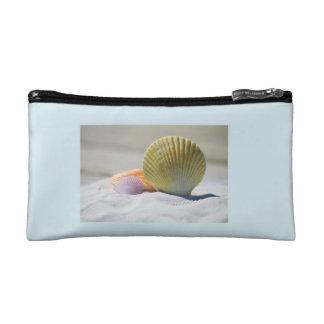 Bolso del maquillaje de los Seashells
