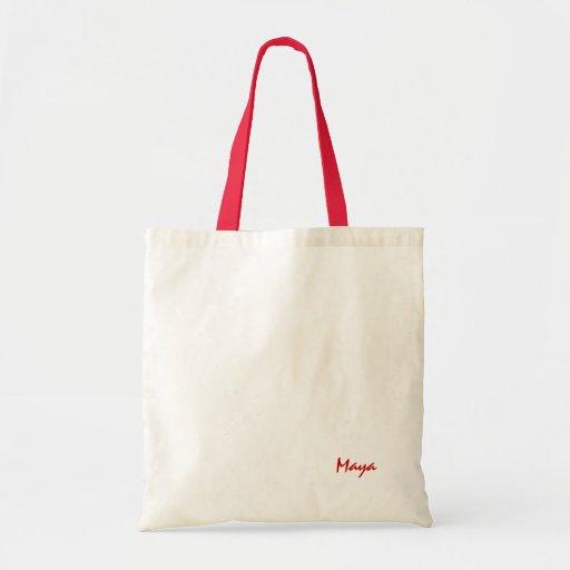 Bolso del maya y bolso de la lona bolsas de mano