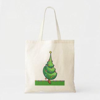 Bolso del navidad Tree2 Bolsa Lienzo