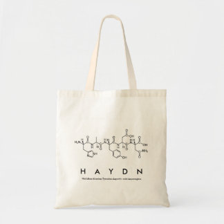 Bolso del nombre del péptido de Haydn
