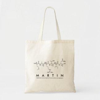 Bolso del nombre del péptido de Martin