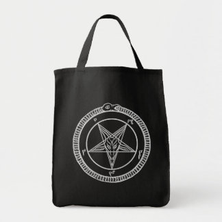 bolso del Pentagram del baphomet