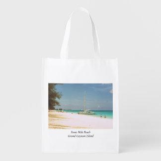 Bolso del recuerdo con escena de la playa