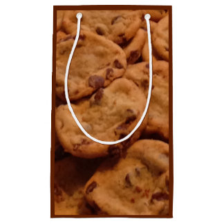 Bolso del regalo de la foto de las galletas de bolsa de regalo pequeña